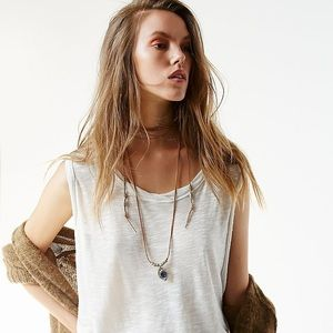 NWT Free People Choker pendant necklace